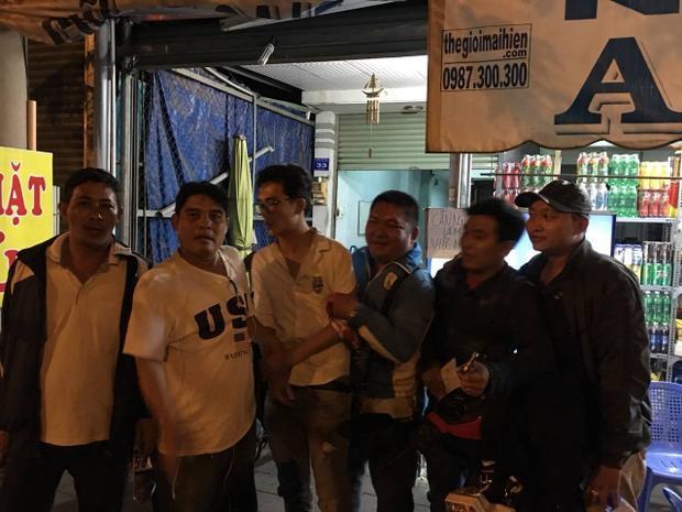 Đội hiệp sĩ Nguyễn Thanh Hải tóm gọn tên cướp.