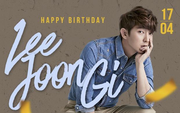 Chúc mừng sinh nhật Lee Joon Gi!