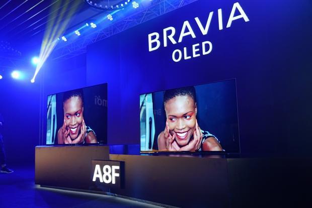Sony trình làng bộ đôi TV cao cấp Bravia OLED A8F và X9000F tại thị trường Việt Nam