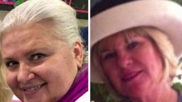 Ann Riess (trái) và nạn nhânHutchinson. Ảnh: CBS