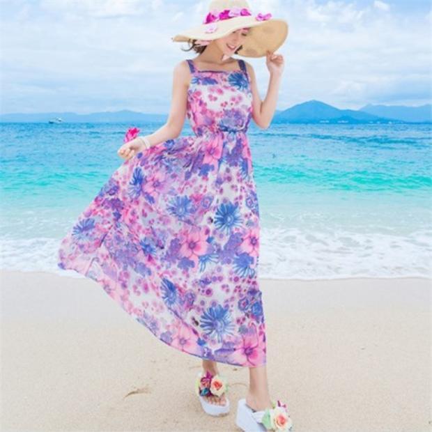 Đầm maxi được ưa chuộng không chỉ vì vẻ ngoài nữ tính, thướt tha mà còn bởi cảm giác vô cùng thoải mái, nhẹ nhàng.