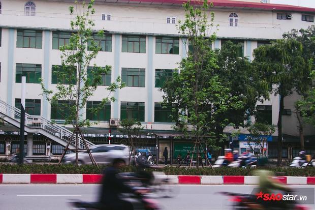 Khung cảnh trên đường Nguyễn Chí Thanh.
