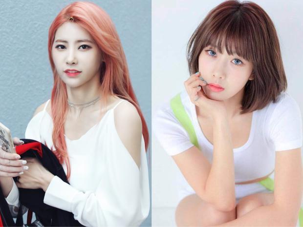 Sinh năm 1995, thi Produce 101 và kết quả xếp hạng 19, chị cả Eunice sinh năm 1991.