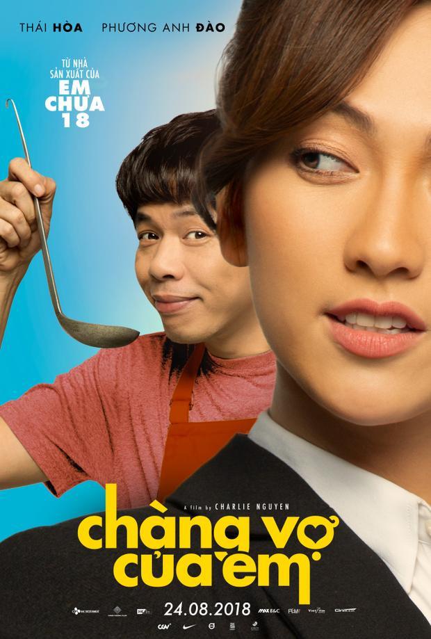 Thái Hòa làm người chồng đảm việc nhà phụ giúp cô vợ doanh nhân trong trailer Chàng vợ của em