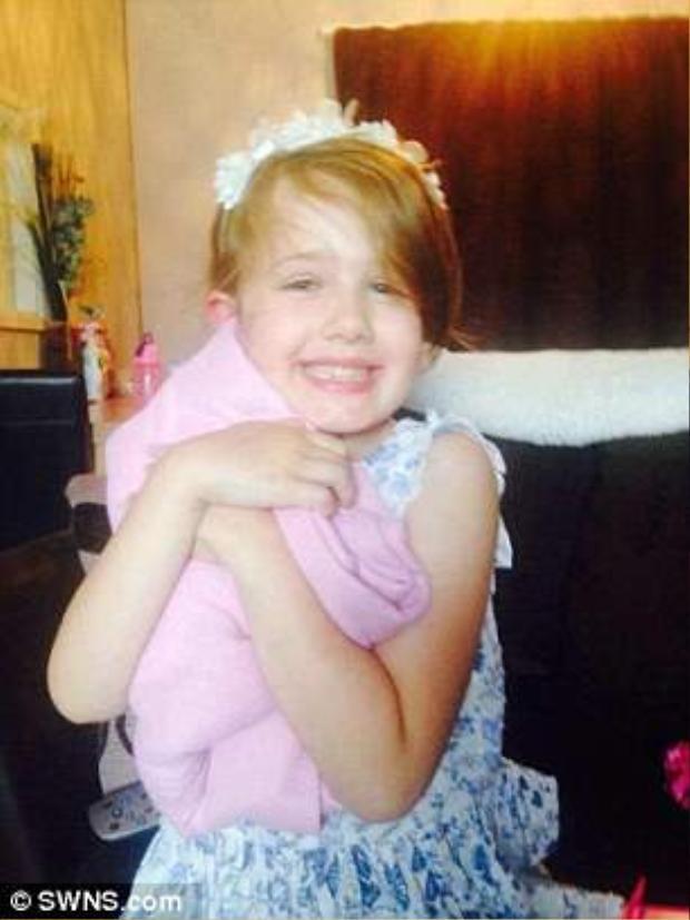 Cô bé Summer Grant là nạn nhân trong vụ tai nạn thảm khốc.