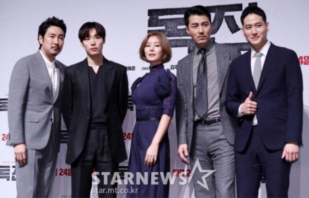 Mẹ Kim Tan Kim Sung Ryung khoe sắc bên Cha Seung Won cùng dàn nam nhân đình đám