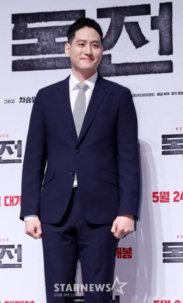 """Diễn viên Park Hae Joon của phim điện ảnh """"Mất tích""""."""
