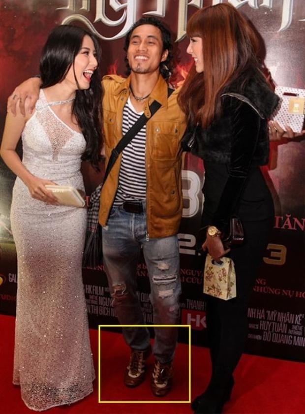 Rocker Phạm Anh Khoa đã cố hết sức để có bức ảnh đẹp.