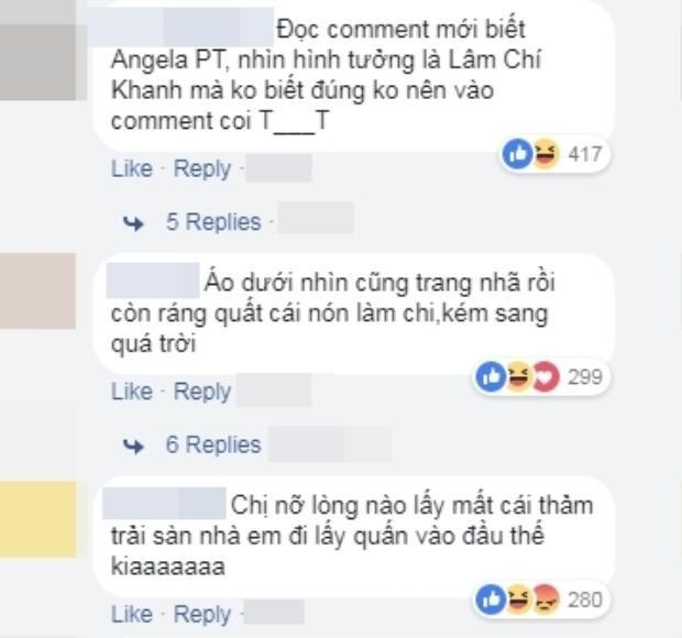 Chết cười trước phản ứng của cư dân mạng trước nón lông cỡ bự khó hiểu của Angela Phương Trinh