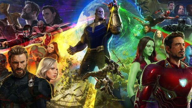 'Avengers: Infinity War' nhá hàng clip hành động của Captain America, Black Widow đấu với Black Order
