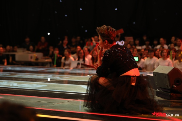 … trên sân khấu The Voice 2018.