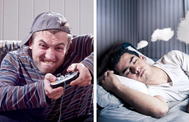 Chơi trò chơi điện tử giúp bạn kiểm soát được những giấc mơ. Ảnh: depositphotos
