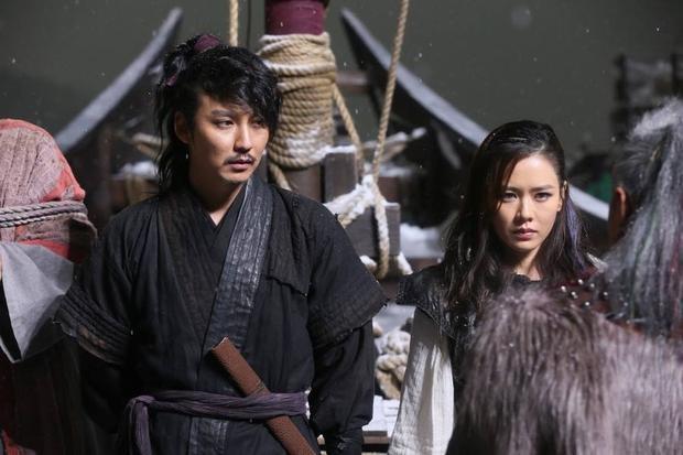 """Năm 2014, cặp đôi tiếp tục """"nên duyên"""" trong tác phẩm điện ảnh """"Hải tặc""""."""