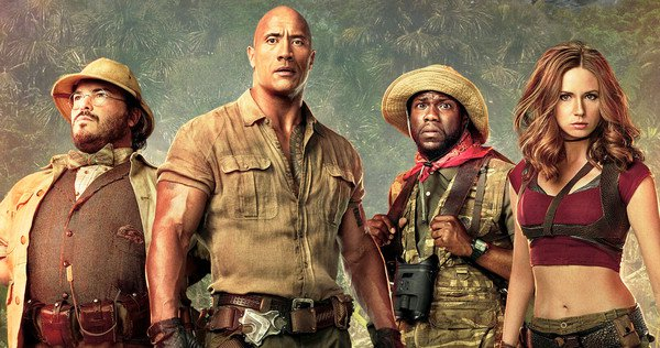 "… và ""Jumanji: Welcome to the Jungle"""