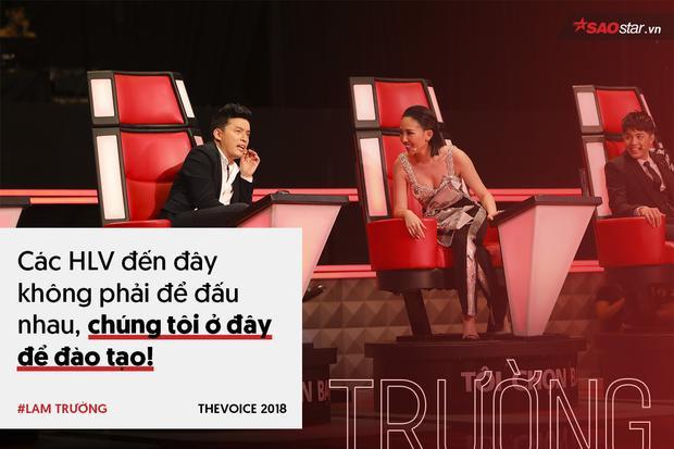 Lam Trường: Các HLV đến The Voice 2018 không phải để đấu nhau!