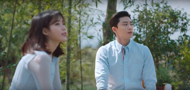 Fan 'bấn loạn' vì sự kết hợp đầu tiên của IU và Park Seo Joon trong clip nhá hàng phim mới?