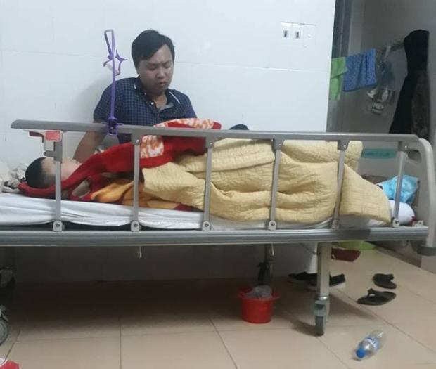 Hiện tại em Tuấn Anh đang được điều trị tại bệnh viện.