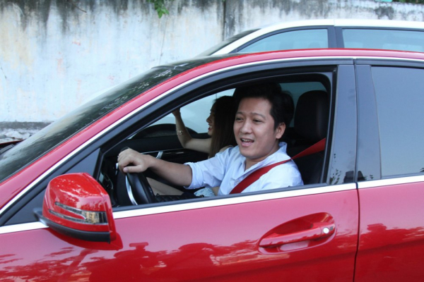 Trường Giang không ít lần bị bắt gặp dùng chiếc xe này đưa đón Nhã Phương.