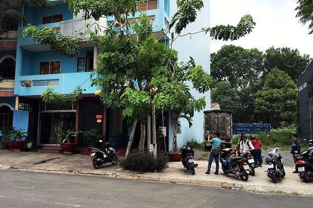 Khách sạn nơi xảy ra vụ việc. Ảnh Vietnamnet