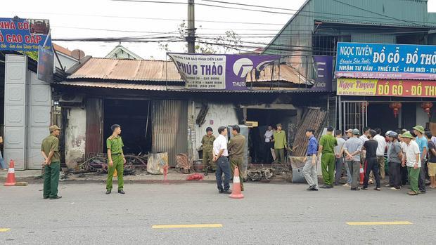 Ngôi nhà nơi xảy ra hỏa hoạn khiến 3 mẹ con thiệt mạng.