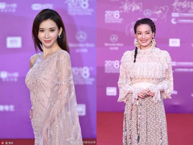 Thư Kỳ và Lâm Chí Linh cùng xuất hiện tại thảm đỏ