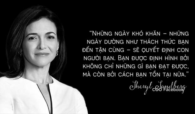 Nữ tướng Sheryl Sandberg của Facebook: Kế hoạch B và cuộc sống đằng sau nỗi đau