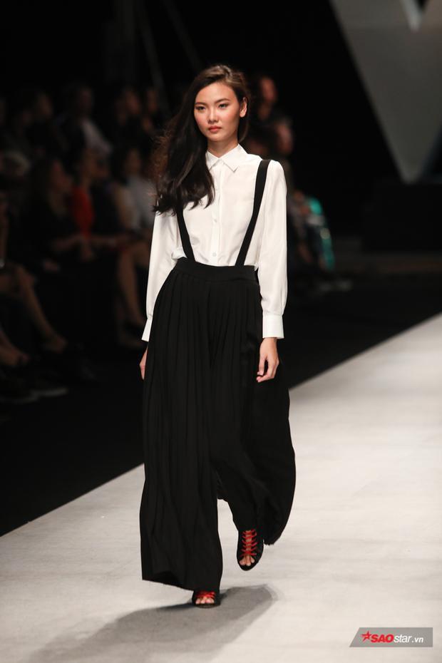 Những mẫu quần culottes rộng rãi, đem lại sự thoải mái cho người mặc.