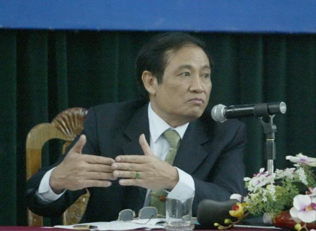 Cựu Chủ tịch VFF - Nguyễn Trọng Hỷ. Ảnh: TTVH