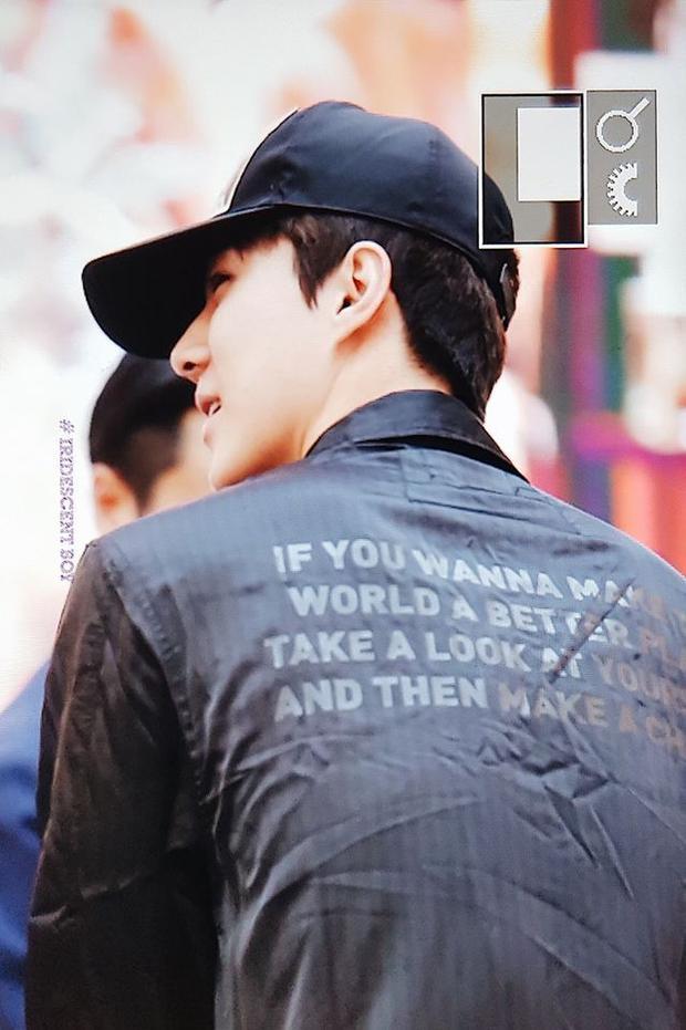 Sehun quá dễ thương: Cải trang thành fan xếp hàng xin chữ ký EXO-CBX như đúng rồi!