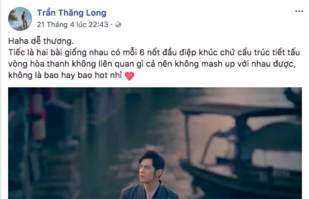E-kip Thanh Duy đầy hóm hỉnh trả lời về tin đồn đạo nhạc.