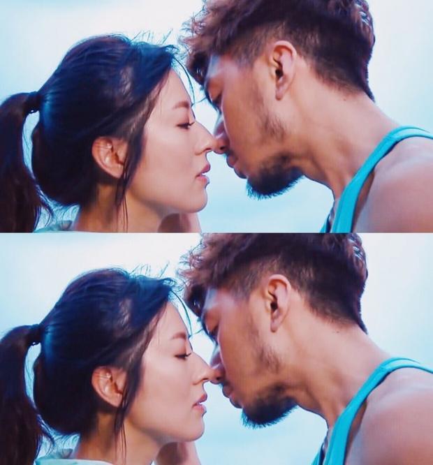 Trong phim Viên Vỹ Hào phải hôn rất nhiều người để đánh cắp thời gian của họ