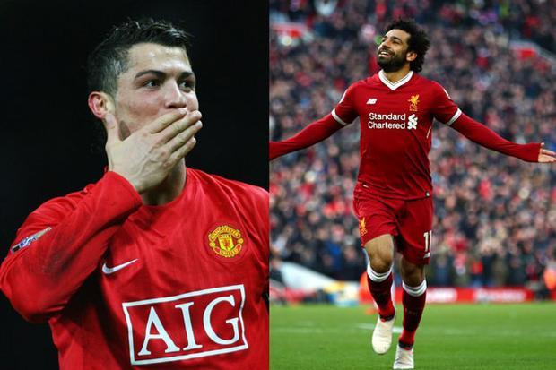 Cầu thủ Premier League đầu tiên chạm mốc 40 bàn/mùa giải, sau Ronaldo. Ở mùa bóng 2007-2008, Cristiano Ronaldo đã ghi được 42 bàn thắng sau 49 trận cho Man United. Hiện tại, Salah đã có 41 lần lập công sau 46 trận.