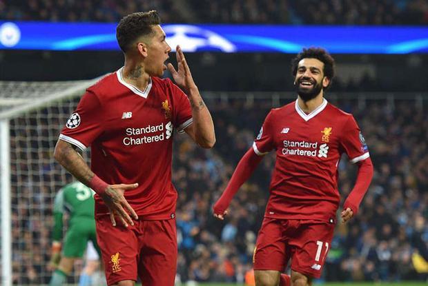 """Cầu thủ ghi nhiều bàn nhất cho Liverpool trong một mùa giải ở Champions League. Mùa giải này, Salah và đồng đội Roberto Firmino, mỗi người đã đóng góp 8 bàn thắng cho Liverpool ở Champions League. Cả hai đang là chân sút ghi bàn nhiều nhất cho """"The Kop"""" ở sân chơi danh giá nhất châu Âu trong một mùa giải. Thành tích này giúp đội bóng vùng Merseyside lọt vào vòng bán kết."""