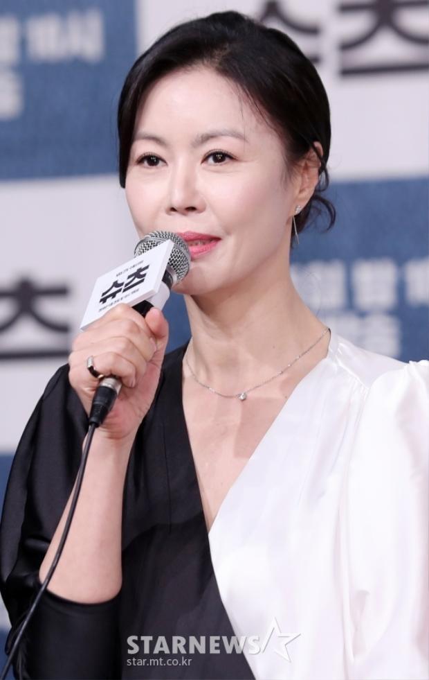 Diễn viên gạo cội Jin Hee Kyung.