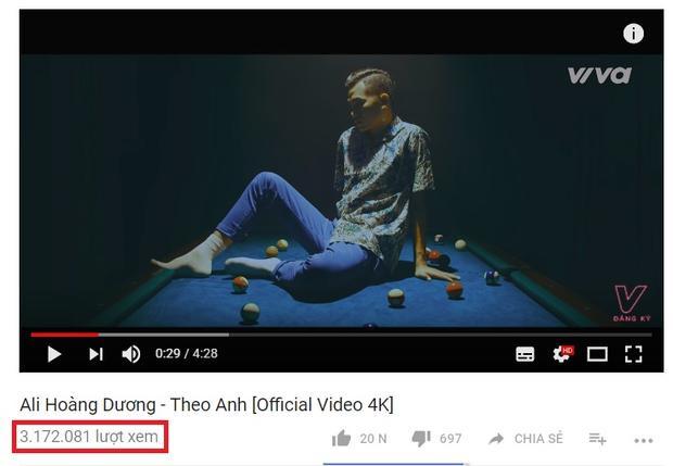 MV hiện đã đạt hơn 3 triệu lượt xem trên Youtube.