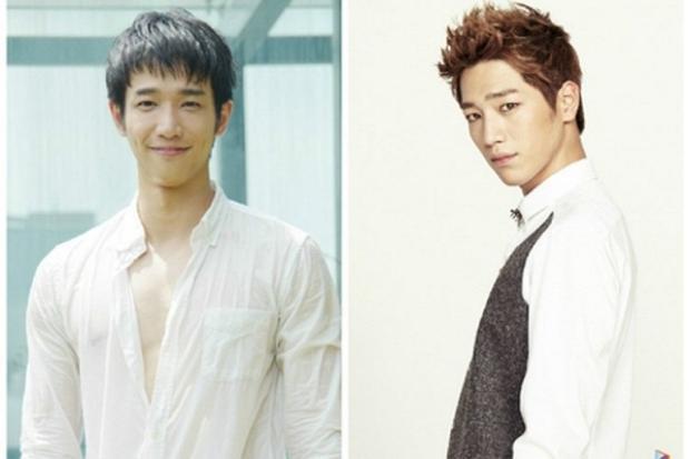 """Đều sở hữu đôi mắt một mí rất """"duyên"""" cùng nụ cười má lúm đồng tiền nên đôi khi trong một số bức ảnh, tài tử xứ Đài Lưu Dĩ Hào được fan nhận xét là có nét tương đồng với Seo Kang Joon - nam diễn viên quen thuộc của điện ảnh Hàn Quốc."""