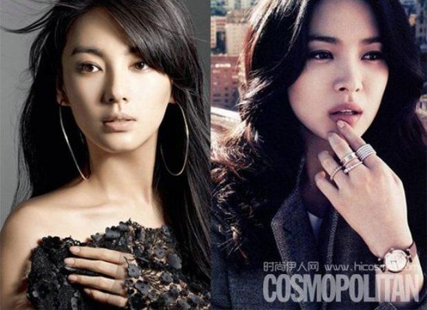 """Trương Vũ Kỳ cũng từng gây tranh cãi với phát ngôn: """"Nhiều người nói tôi đẹp hơn Song Hye Kyo""""."""