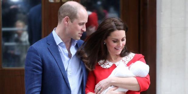 Vợ chồng Hoàng tửWilliam hạnh phúc chào đón thành viên mới trong gia đình.