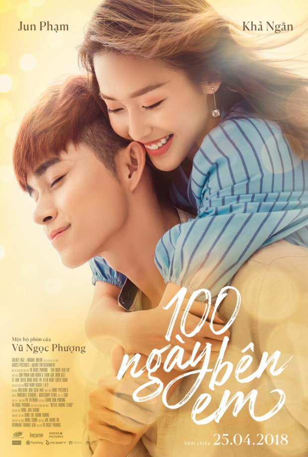 """Poster phim """"100 ngày bên em"""""""
