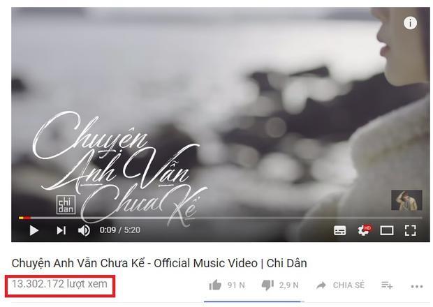 MV hiện đạt thành tích khá tốt với hơn 13 triệu lượt xem.
