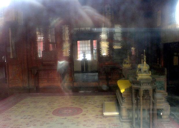 Trong điện Thái Hòa từng có một người điên nhảy múa.