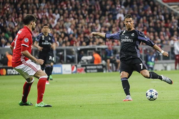 Ronaldo  'lá bùa hộ mệnh' của Real ở đại chiến với Bayern