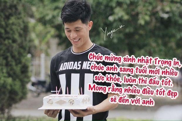 Chúc Đình Trọng sinh nhật vui vẻ nhé!
