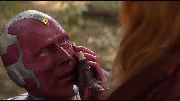 Vision nói lời tạm biệt Scarlet Witch