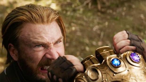 Captain America cố gắng trong vô vọng để ngăn Thanos