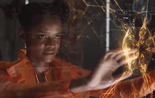 Shuri đã không thể giúp Vision kịp thời khi Thanos tấn công