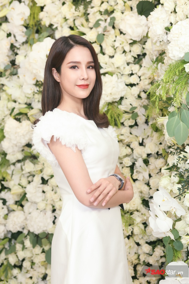 Người mẫu/ca sĩ Diệp Lâm Anh.
