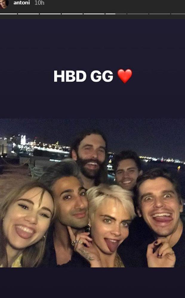 Gigi Hadid mừng sinh nhật tưng bừng với hội bạn thân đỉnh nhất Hollywood