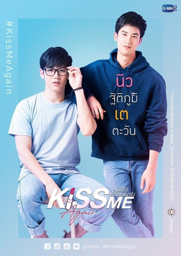 Cặp đôi Pete - Kao do Tay Tawan và New Thitipoom đã đảo phụ thành chính thành công trong Kiss Me Again.