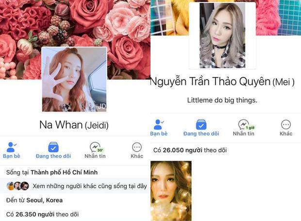 …thì Na Whan và Mei đã xóa thông tin này khỏi profile trên trang cá nhân.